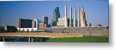 Bartle Hall Kansas City Mo Metal Print by Panoramic Images