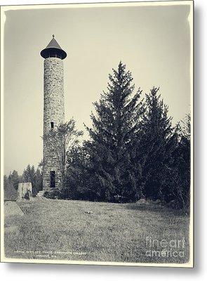 Bartlett Tower Dartmouth College Hanover Nh Metal Print by Edward Fielding