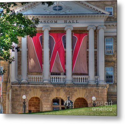 Bascom Hall-on Wisconsin Metal Print