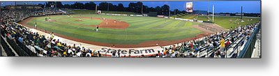 Baseball America's Past Time Metal Print by Thomas Woolworth