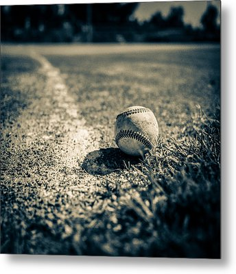 Baseball Field 2 Metal Print