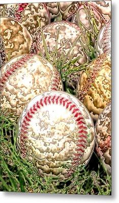 Baseball - Field Of Dreams Metal Print