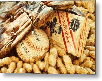 Baseball Fundamentals Metal Print