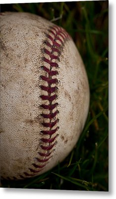 Baseball - The National Pastime Metal Print by David Patterson