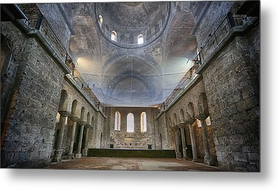 Basilica Of Holy Peace Metal Print by Stephen Stookey