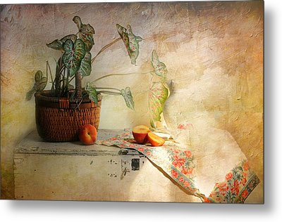 Basket Of Faith Metal Print by Diana Angstadt