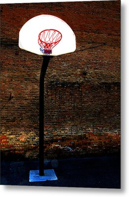Basketball Metal Print by Lane Erickson
