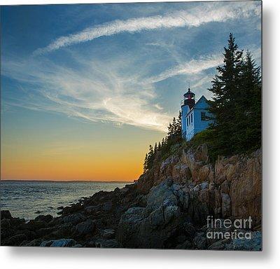 Bass Harbor Lighthouse Metal Print
