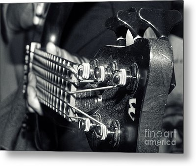 Bass  Metal Print by Stelios Kleanthous