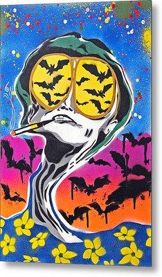 Bat Country Metal Print by Victor Cavalera