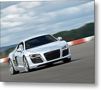 Bat Out Of Hell - Audi R8 Metal Print