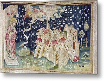 Bataille, Nicolas 14th C.. The Second Metal Print by Everett