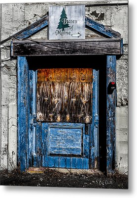 Bates Of Maine Metal Print by Bob Orsillo