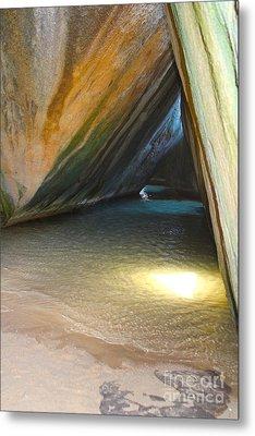 Bath Cave Metal Print by Carey Chen