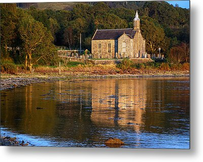 Bathed In Gods Light Metal Print by Wendy Wilton