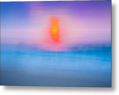 Bathing Corp Sunrise 2 Metal Print by Ryan Moore