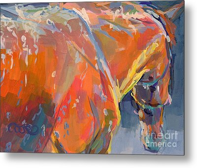 Bathtime  Metal Print by Kimberly Santini