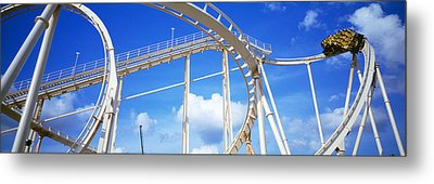 Batman The Escape Rollercoaster Metal Print