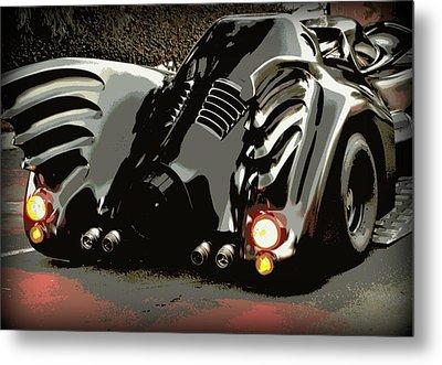 Batmobile 2 Metal Print by Cathy Smith