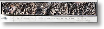 Battle Of Britain Monument London Metal Print