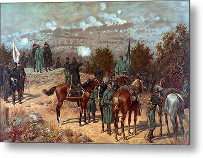 Battle Of Chattanooga Metal Print by American School