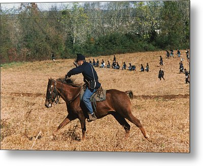 Battle Of Franklin - 4 Metal Print