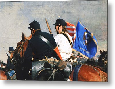 Battle Of Franklin - 2 Metal Print