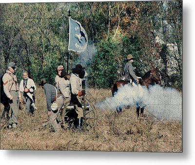 Battle Of Franklin - 3 Metal Print
