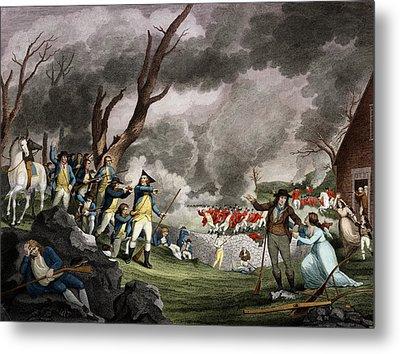 Battle Of Lexington, 1775 Metal Print by Science Source