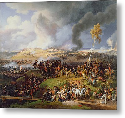 Battle Of Moscow Metal Print