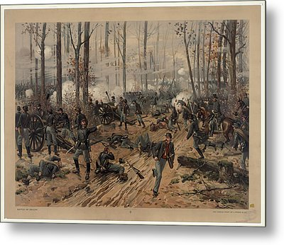 battle of Shiloh Metal Print