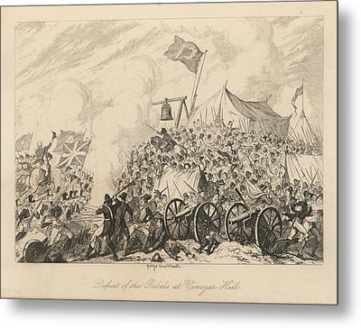 Battle Of Vinegar Hill Metal Print