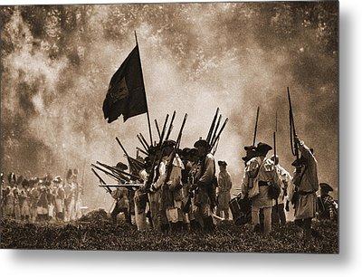 Battle Of Wyoming II Metal Print by Jim Cook