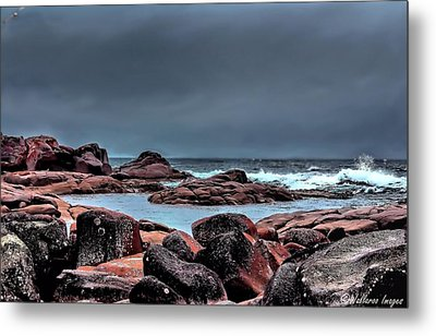 Metal Print featuring the photograph Bay Of Fires 3 by Wallaroo Images