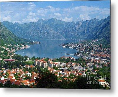 Bay Of Kotor - Montenegro Metal Print