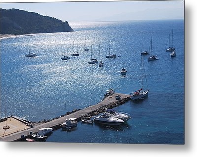 Metal Print featuring the photograph Bay Of Porto by George Katechis