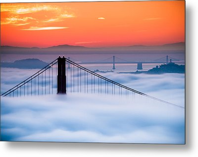 Metal Print featuring the photograph Bay Sunrise by Brian Bonham