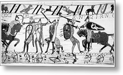 Bayeux Tapestry Metal Print by Granger