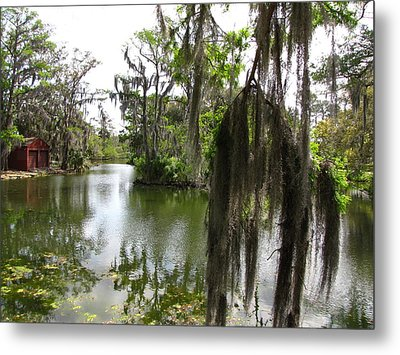 Metal Print featuring the photograph Bayou by Beth Vincent