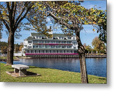 Baypoint Inn At Mill Falls Meredith Nh Metal Print