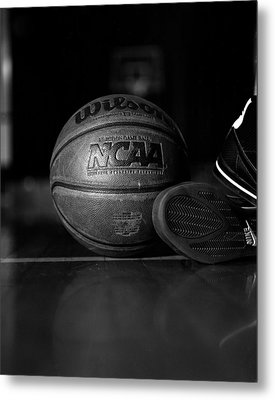 Bball Metal Print by Molly Picklesimer