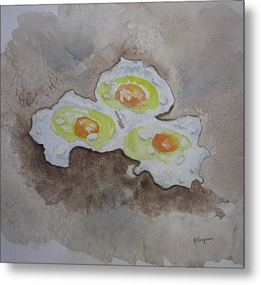 Breakfast Anyone Metal Print
