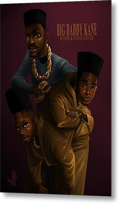 Bdk Color Bg Metal Print
