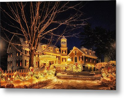 Merry Christmas  Metal Print by Tricia Marchlik
