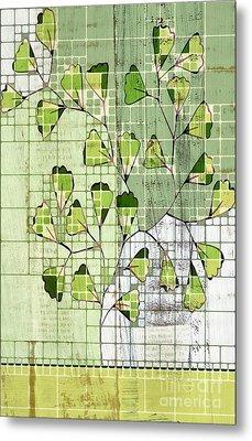 Be-leaf - Green 03-ab202t2 Metal Print