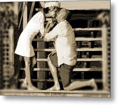 Metal Print featuring the photograph Be Mine by Zinvolle Art