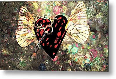 Metal Print featuring the photograph Be My Valentine by Ally  White