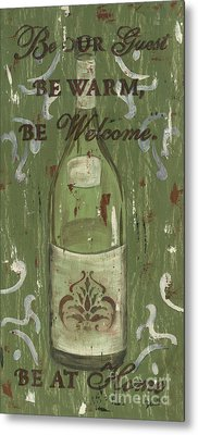 Be Our Guest Metal Print by Debbie DeWitt