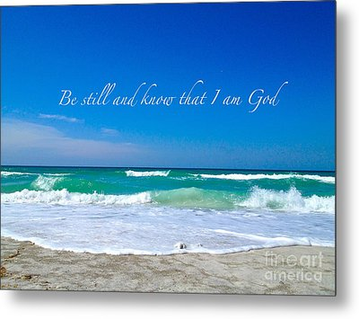 Be Still #4 Metal Print