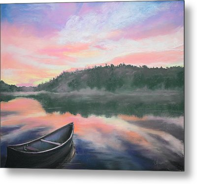 Be Still  Metal Print by Cathy Weaver